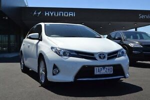 2013 Toyota Corolla ZRE182R Ascent Sport White 7 Speed Constant Variable Hatchback Strathmore Heights Moonee Valley Preview