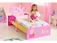 Peppa pig wooden toddler bed