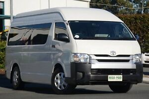 2013 Toyota Hiace TRH223R MY12 Commuter High Roof Super LWB White 4 Speed Automatic Bus Acacia Ridge Brisbane South West Preview