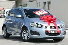2012 Holden Barina TK MY11 Blue 5 Speed Manual Hatchback Pennant Hills Hornsby Area Preview