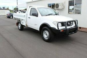 2011 Nissan Navara D40 MY11 RX White 6 Speed Manual Cab Chassis Devonport Devonport Area Preview
