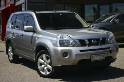 2007 Nissan X-Trail T31 TI Silver 1 Speed Constant Variable Wagon