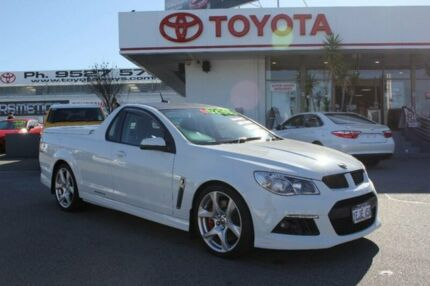 2013 Holden Special Vehicles Maloo E3 MY12.5 White 6 Speed Manual Utility Hillman Rockingham Area Preview