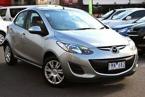 2011 Mazda 2 DE10Y1 MY11 Neo Silver 4 Speed Automatic Hatchback Coburg Moreland Area Preview