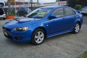 2008 Mitsubishi Lancer CJ VR Blue 6 Speed Constant Variable Sedan Oak Flats Shellharbour Area Preview