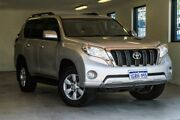 2015 Toyota Landcruiser Prado KDJ150R MY14 GXL Silver 5 Speed Sports Automatic Wagon Melville Melville Area Preview