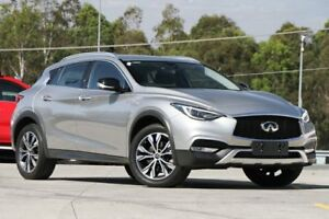 2016 Infiniti QX30 H15 GT D-CT AWD Silver 7 Speed Sports Automatic Dual Clutch Wagon Springwood Logan Area Preview