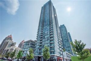 Spacious 1 + 1 Bed 1 Bath Condo in Mississauga Square One Area