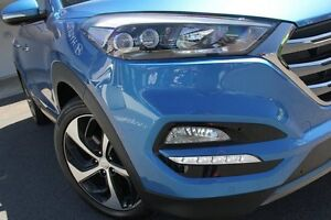 2015 Hyundai Tucson TLE Highlander R-Series (awd) Ara Blue 6 Speed Automatic Wagon Wolli Creek Rockdale Area Preview