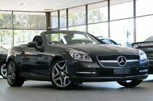 2012 Mercedes-Benz SLK R172 350 BE Silver 7 Speed Automatic G-Tronic Convertible Roseville Ku-ring-gai Area Preview