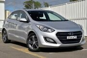 2015 Hyundai i30 GD3 Series II MY16 Active X Silver 6 Speed Sports Automatic Hatchback Gosford Gosford Area Preview