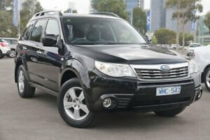2009 Subaru Forester S3 MY09 XS AWD Premium Black 5 Speed Manual Wagon Docklands Melbourne City Preview