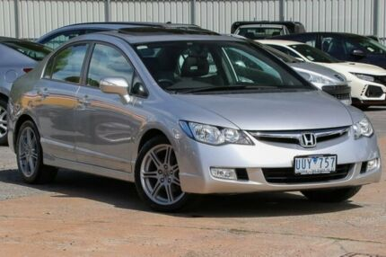 2007 Honda Civic 8th Gen MY07 Sport Silver 5 Speed Automatic Sedan Ferntree Gully Knox Area Preview