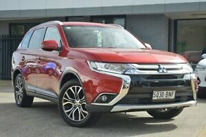 2015 Mitsubishi Outlander ZK MY16 LS 4WD Red 6 Speed Constant Variable Wagon Hillcrest Port Adelaide Area Preview