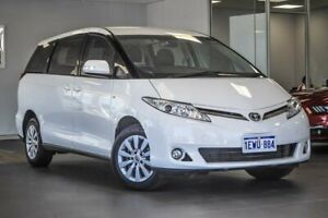 2015 Toyota Tarago ACR50R MY13 GLi White 7 Speed Constant Variable Wagon Bellevue Swan Area Preview
