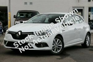 2018 Renault Megane BFB Zen EDC White 7 Speed Sports Automatic Dual Clutch Hatchback Osborne Park Stirling Area Preview