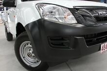 2012 Isuzu D-MAX TF MY12 EX (4x4) White 5 Speed Manual Cab Chassis Coopers Plains Brisbane South West Preview