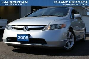 2008 Honda Civic Sdn LX-AS IS+MANUAL TRANS+FWD+POWER WINDOWS+POW