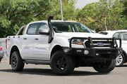2016 Ford Ranger PX MkII XLS Double Cab White 6 Speed Manual Utility Indooroopilly Brisbane South West Preview