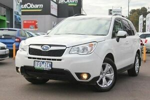 2015 Subaru Forester S4 MY15 2.0D-L AWD White 6 Speed Manual Wagon Nunawading Whitehorse Area Preview