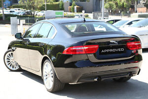 2016 Jaguar XE X760 MY16 25T Portfolio Black 8 Speed Sports Automatic Sedan Petersham Marrickville Area Preview