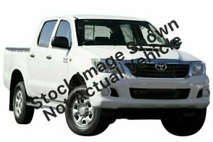 2013 Toyota Hilux KUN26R MY12 SR Double Cab Glacier White 4 Speed Automatic Utility Mill Park Whittlesea Area Preview
