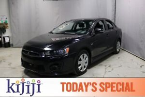 2016 Mitsubishi Lancer ES Heated Seats,  Bluetooth,  A/C,