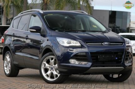 2013 Ford Kuga TF Titanium PwrShift AWD Blue 6 Speed Sports Automatic Dual Clutch Wagon Mornington Mornington Peninsula Preview