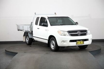 2008 Toyota Hilux GGN15R 07 Upgrade SR White 5 Speed Automatic Dual Cab Pick-up Smithfield Parramatta Area Preview