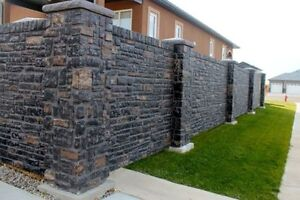 CONCRETE FENCES -Innovative Custom designs!