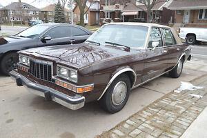 1984 Dodge Diplomat Salon Sedan - PERFECT - 10,000 KM