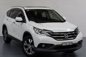 2014 Honda CR-V RM MY15 VTi-L 4WD White Orchid 5 Speed Sports Automatic Wagon Cardiff Lake Macquarie Area Preview