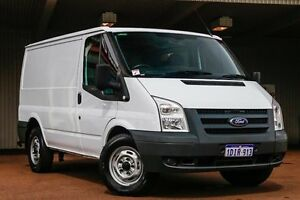 2010 Ford Transit VM Mid Roof MWB White 6 Speed Manual Van Northbridge Perth City Area Preview