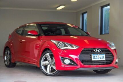 2012 Hyundai Veloster FS2 SR Coupe Turbo Red 6 Speed Manual Hatchback