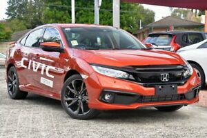 2019 Honda Civic 10th Gen MY19 RS Phoenix Orange 1 Speed Constant Variable Hatchback Wyoming Gosford Area Preview