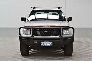2011 Nissan Navara D40 Series 4 ST-X (4x4) Silver 6 Speed Manual Dual Cab Pick-up Jandakot Cockburn Area Preview