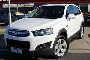 2013 Holden Captiva CG Series II MY12 7 AWD CX White 6 Speed Sports Automatic Wagon Cheltenham Kingston Area Preview