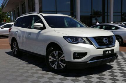 2018 Nissan Pathfinder R52 Series II MY17 ST-L X-tronic 4WD White 1 Speed Constant Variable Wagon Alfred Cove Melville Area Preview