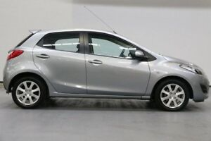 2011 Mazda 2 DE10Y1 MY11 Neo Grey 4 Speed Automatic Hatchback