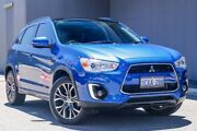 2015 Mitsubishi ASX XB MY15.5 XLS 2WD Lightning Blue 6 Speed Constant Variable Wagon Osborne Park Stirling Area Preview