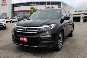2016 Honda Pilot Touring w/Navigation, Panoramic Moonroof & Back