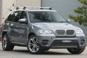 2010 BMW X5 E70 MY10 xDrive 40D Sport Grey 8 Speed Sequential Auto Wagon Petersham Marrickville Area Preview