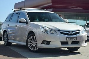 2011 Subaru Liberty B5 MY11 2.5i Sports Lineartronic AWD Premium White 6 Speed Constant Variable Waitara Hornsby Area Preview