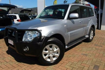 2013 Mitsubishi Pajero NW MY13 GLX-R Silver 5 Speed Sports Automatic Wagon