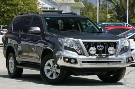 2015 Toyota Landcruiser Prado KDJ150R MY14 GXL Grey 5 Speed Sports Automatic Wagon