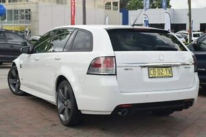 2013 Holden Commodore VE II MY12.5 SV6 Z-Series White 6 Speed Automatic Sportswagon Waitara Hornsby Area Preview