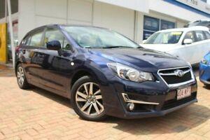 2016 Subaru Impreza G5 MY17 2.0i Premium CVT AWD Blue 7 Speed Constant Variable Hatchback