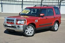 2012 Land Rover Discovery 4 Series 4 MY12 SDV6 CommandShift SE Maroon 6 Speed Sports Automatic Wagon New Lambton Newcastle Area Preview