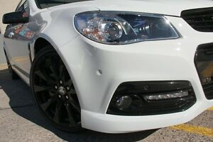 2015 Holden Ute VF MY15 SS-V Sandman White 6 Speed Manual Utility Wolli Creek Rockdale Area Preview