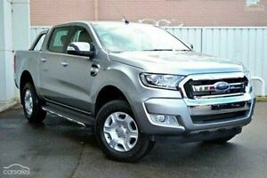 2016 Ford Ranger PX MkII XLT Double Cab Silver 6 Speed Manual Utility Invermay Launceston Area Preview